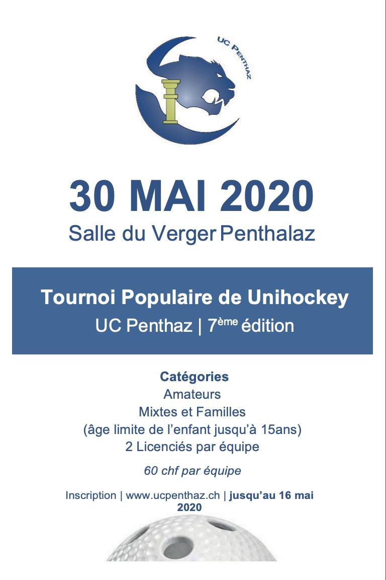 Tournoi populaire unihockey 2020